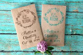 wedding seed packets 150 seed packet wedding favor sweetspotstshop