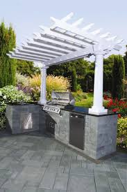 Pergola Outdoor Kitchen 19 Best Outdoor Kitchen Images On Pinterest Outdoor Kitchens