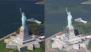 Google Map Of New York by Google Maps Gets High Resolution 3d Imagery For New York And San