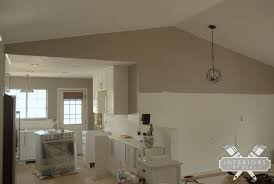 rockport gray paint open concept color interiors by kenz