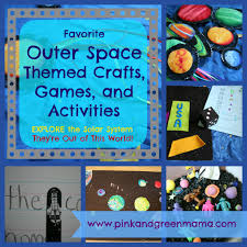 pink and green mama solar system projects outer space themed