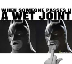 Grossed Out Meme - when someone passes a wet joint batman grossed out weed memes