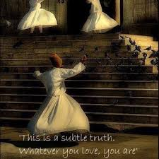 Wedding Quotes Rumi Beautiful Image By Semazen And Soulful Quote By Rumi For