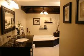 ideas to decorate a bathroom wooden wall panel square white