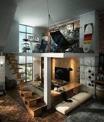 Home Loft Office Office On The Mezzanine 17 Ideas Inspirational Dream