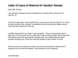 Exle Letter Request Annual Leave time request letter impression concept 9 sle vacation leave