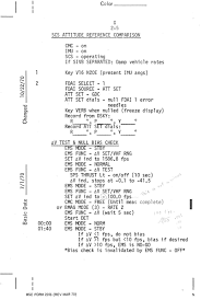 apollo 14 flight journal csm guidance u0026 control checklist