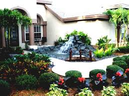 No Grass Landscaping Ideas Landscaping Ideas For Cheap No Grass Image Of Small Front Yard
