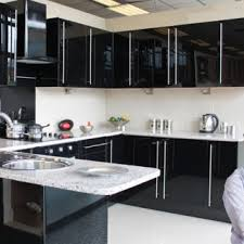 black gloss kitchen ideas tag for high gloss kitchen designs arabian designs kitchens