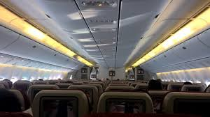 Boeing 777 Interior Airline Review Etihad Airways Long Haul Economy Travelux