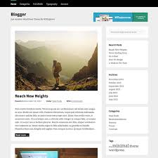 blogger free wordpress theme wpexplorer