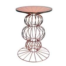 Copper Side Table Copper Finish Coffee Console Sofa U0026 End Tables For Less