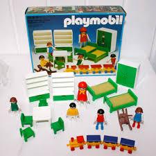 chambre playmobil 3417 chambre verte des enfant playmobil avec boite play original