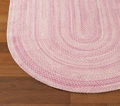 Pottery Barn Rugs Kids Pink Chenille Braided Rug Swatch Pottery Barn Kids