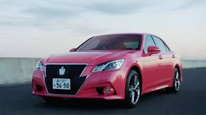 paint it pink new toyota crown color causes a stir in japan