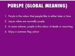 What Do The Flag Colors Mean What Does Color Purple Mean Design Decoration