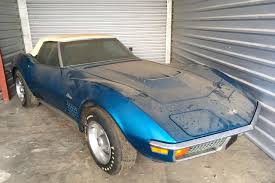 1972 corvette convertible 454 for sale less than 1 000 on newly found 454 corvette