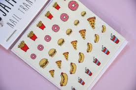Food Nail Art Designs These 26 Foodie Nail Art Designs Will Make You Want To Bite Your