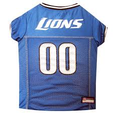 Detroit Lions Home Decor by Pets First Detroit Lions Nfl Mesh Pet Jersey Petco