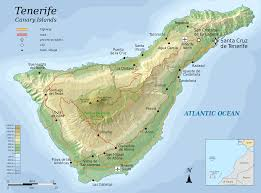 Arizona Elevation Map by File Topographic Map Of Tenerife En Svg Wikimedia Commons
