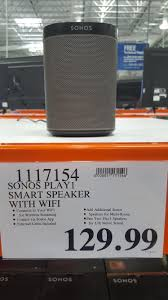 costco after thanksgiving sale costco sonos play 1 speaker black for 129 99 tax very ymmv