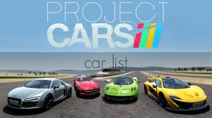 toyota car list with pictures project cars car list youtube