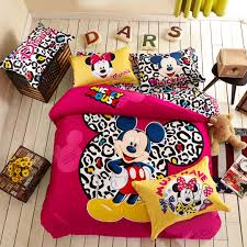 Mickey And Minnie Mouse Bedding Mickey Mouse Bedding Set Twin Queen Size Ebeddingsets