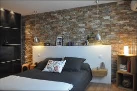 chambre avec mur en chambre deco déco chambre avec mur en