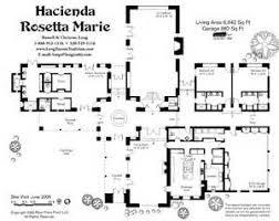 Hacienda Floor Plans Mexican Hacienda Style Home Plans House Design Plans