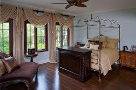 Mounted Bookshelf Round Green Vynil Bench Mediterranean Bedroom Furniture Brown