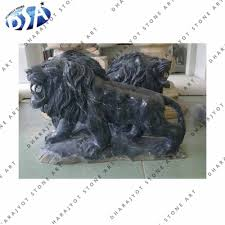 wood carved lion statue wood carved lion statue suppliers and