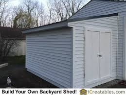 lean to shed next plans build a 8 8 simple 12 16 cabin floor plan completed lean to shed attached to existing house or garage wall