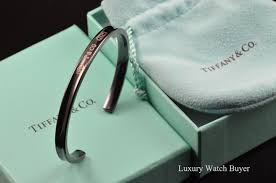 titanium bracelet cuff images Tiffany co 1837 titanium narrow cuff bracelet luxury brand jpg