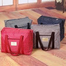 Waterproof Cushion Storage Bag by Waterproof Foldable Nylon Suitcase Travel Luggage Underwear