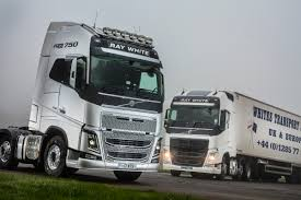 volvo tractor trailer whites transport puts five new volvo tractors on the road www