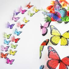 Posters For Home Decor by Creative Butterflies 3d Wall Stickers Pvc Removable Art Diy