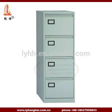 Metal Filing Cabinet 4 Drawer Dark Grey A4 Letter Size Steel Filing Locker Cabinet 4 Drawer Home