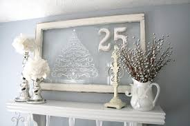 White Silver Christmas Decorations by Blue Green White And Silver Christmas Decorating Ideas