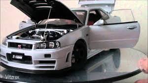 2005 Nissan Skyline Gtr Autoart Nissan Skyline R34 Z Tune Gt R Youtube