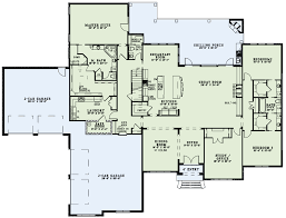 House Plans 2500 Square Feet House Plan 82234 At Familyhomeplans Com