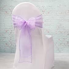 organza chair sashes sheer purple organza chair sashes