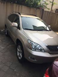 gold lexus rx pictures of lexus rx 300 330 and 350 for sale in nigeria
