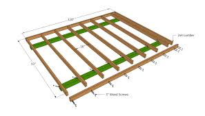 Floor Plans For Sheds Barn Shed Plans Howtospecialist How To Build Step By Step Diy