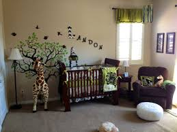 Jungle Nursery Curtains by Jungle Wall Stickers Ebay Bedroom Safari Themed Ideas For S Home