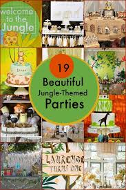 jungle themed birthday party 19 jungle safari themed boy party ideas spaceships and laser beams