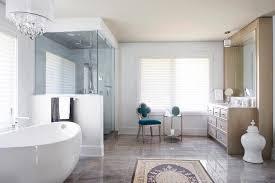 montreal suzanne kasler sunburst mirror bathroom traditional with