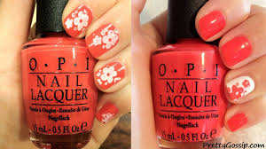 nail stamping kit tutorial pretty gossip