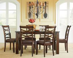Informal Dining Room Standard Furniture Redondo Casual Transitional 7 Piece Dining Set