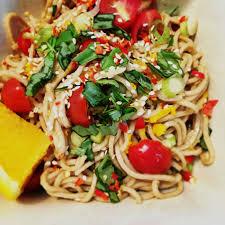 recipe thai spaghetti salad gkskinnypasta