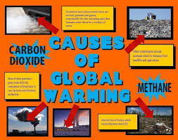 global warming causes and effects make a science fair project poster ideas causes of global